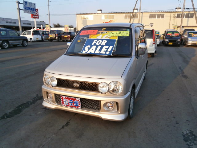 激安車 ムーヴカスタム AT 4WD 13年式 車検無し 福島県相馬市のサムネイル