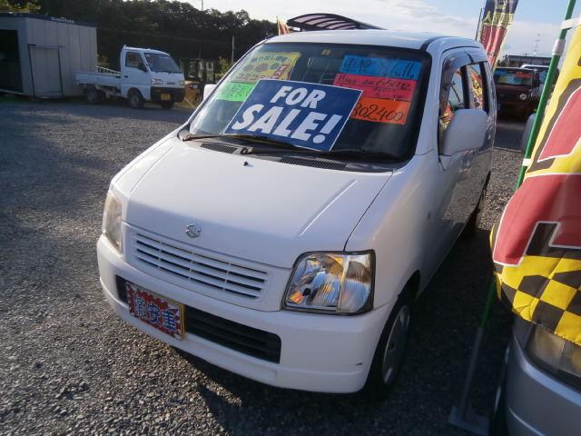 激安車 ワゴンR AT 15年式 車検28年6月 福島県相馬市のサムネイル