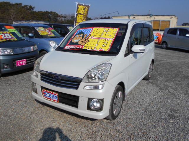 低価格車 ステラ・カスタム AT 18年式 車検33年3月 陸送無料 福島県相馬市発‼のサムネイル