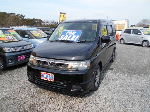 低価格車 ステップワゴン 2000㏄ 15年式 車検33年3月 福島県相馬市発‼のサムネイル