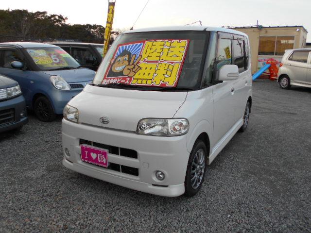 低価格車 タント AT 19年式 車検33年3月 陸送無料 福島県相馬市発‼のサムネイル