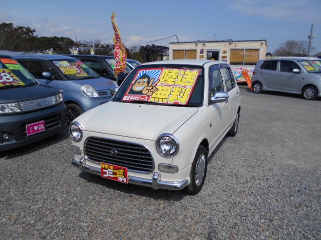 低価格車 ミラジーノ AT 平成13年式 車検2年付 陸送無料 福島県相馬市発‼のサムネイル