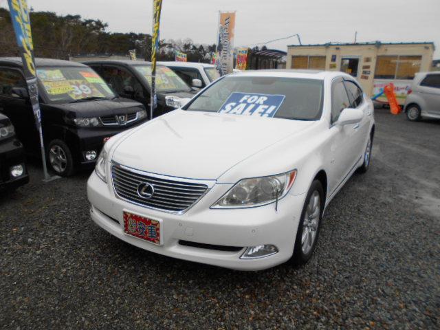 低価格車 高級車 レクサス・LS460 4600㏄ 平成20年式 車検2年付 福島県相馬市発‼のサムネイル