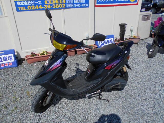 バイクショップピース 原付 50㏄ ヤマハ・ジョグZR 2サイクル カブ スクーター 実働 走行9.900Km 福島県相馬市発‼ 安い‼すぐ乗れます♪早い者勝ち‼ 消費税込み支払総額¥55.000のサムネイル