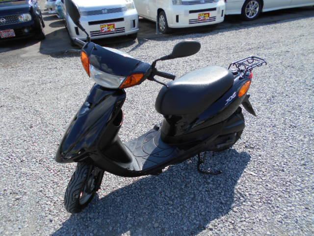 バイクショップピース 原付 50㏄ ヤマハ・ジョグ 4サイクル カブ スクーター 実働 走行12.700Km 福島県相馬市発‼ 安い‼すぐ乗れます♪早い者勝ち‼ 消費税込み支払総額¥75.600のサムネイル