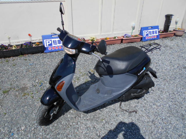 バイクショップピース 原付 50㏄ スズキ・レッツ4 4サイクル カブ スクーター 実働 走行5.000Km 福島県相馬市発‼ 安い‼すぐ乗れます♪早い者勝ち‼ 消費税込み支払総額¥54.000のサムネイル