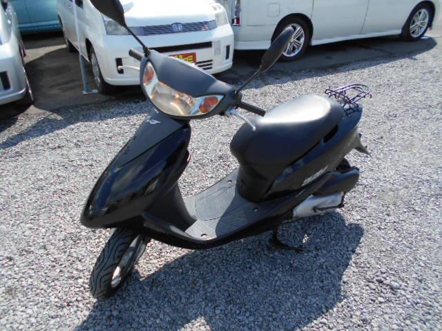 バイクショップピース 原付 50㏄ ホンダ・ディオ 4サイクル カブ スクーター 実働 走行3.400Km 福島県相馬市発‼ 安い‼すぐ乗れます♪早い者勝ち‼ 消費税込み支払総額¥64.800のサムネイル