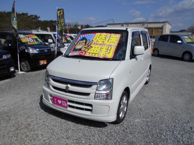 節約車コーナー ワゴンR AT 平成18年式 車検2年付 陸送無料 福島県相馬市発‼のサムネイル