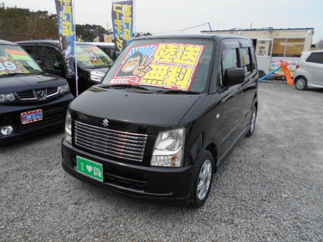 低価格車 ワゴンR・ターボ付 AT 平成18年式 車検2年付 陸送無料 福島県相馬市発‼のサムネイル