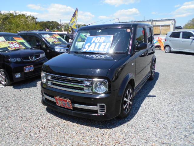 低価格車 キューブ・ライダー 1500㏄ 4WD 平成20年式 車検2年付 福島県相馬市発‼のサムネイル