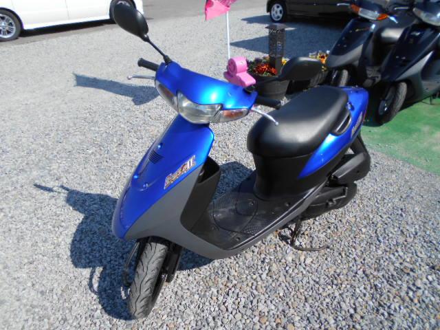 バイクショップピース 原付 50㏄ レッツⅡ 2サイクル カブ スクーター 実働 走行3.600Km 福島県相馬市発‼ 安い‼すぐ乗れます♪早い者勝ち‼ 消費税込み支払総額¥86.400 ※年式不明のサムネイル