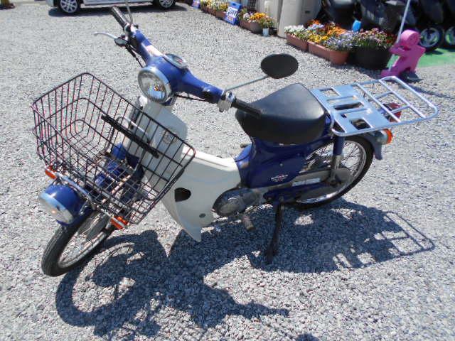 バイクショップピース 原付 50㏄ ホンダ・プレスカブ 2サイクル カブ スクーター 実働 走行27.000Km 福島県相馬市発‼ 安い‼すぐ乗れます♪早い者勝ち‼ 消費税込み支払総額¥86.400 ※年式不明のサムネイル