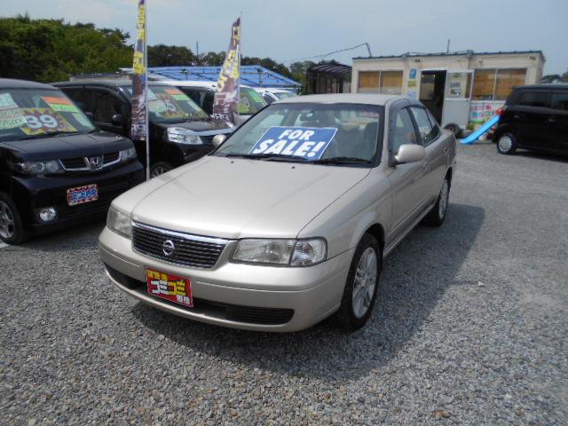 低価格車 サニー 1500cc 5マニュアル 平成16年式 車検2年付 福島県相馬市発‼のサムネイル
