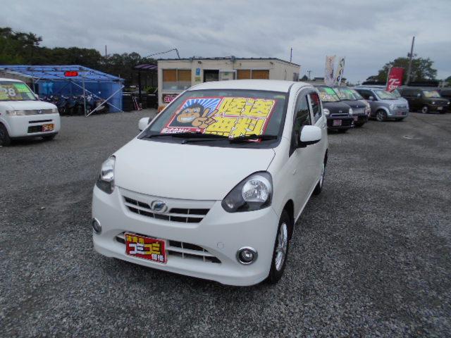 格安車 ミライース AT 4WD 平成24年式 車検2年付 陸送無料 福島県相馬市発‼のサムネイル