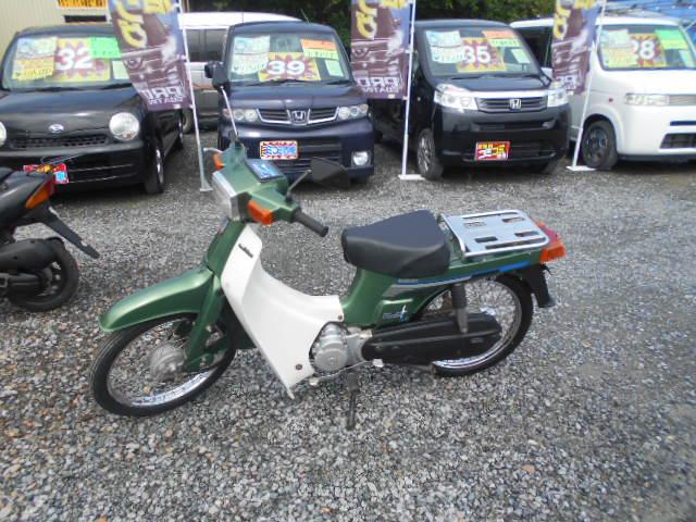 バイクショップピース 原付 50㏄ スズキ・バーディー50 2サイクル カブ スクーター 実働 走行12.800Km 福島県相馬市発‼ 安い‼すぐ乗れます♪早い者勝ち‼ 消費税込み支払総額¥55.000 ※年式不明のサムネイル