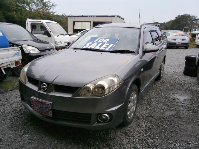 激安車 ウイングロード 4WD AT 16年式 車検27年4月 福島県相馬市発‼のサムネイル
