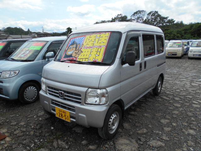 格安車 アクティバン 5MT 平成23年式 車検2年付 陸送無料 福島県相馬市発‼のサムネイル