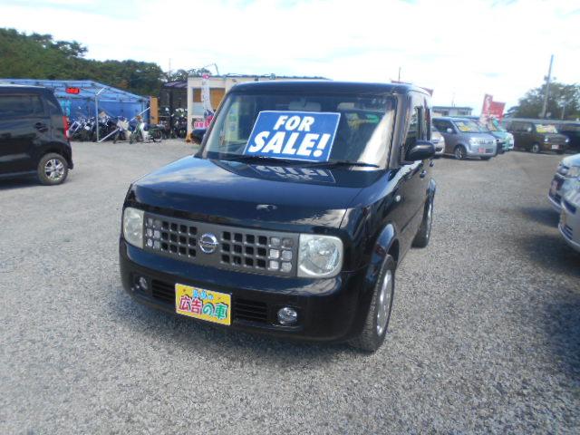 格安車 キューブ 1500㏄ 平成17年式 車検2年付 福島県相馬市発‼のサムネイル