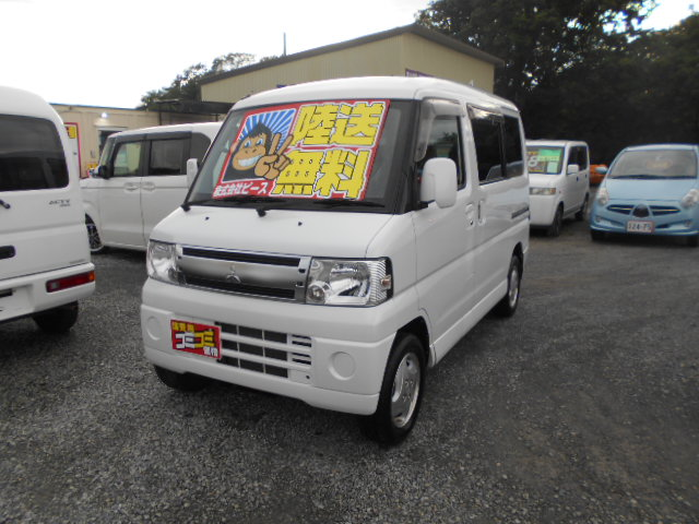 格安車 タウンボックス AT ターボ付 平成23年式 車検2年付 陸送無料 福島県相馬市発‼のサムネイル