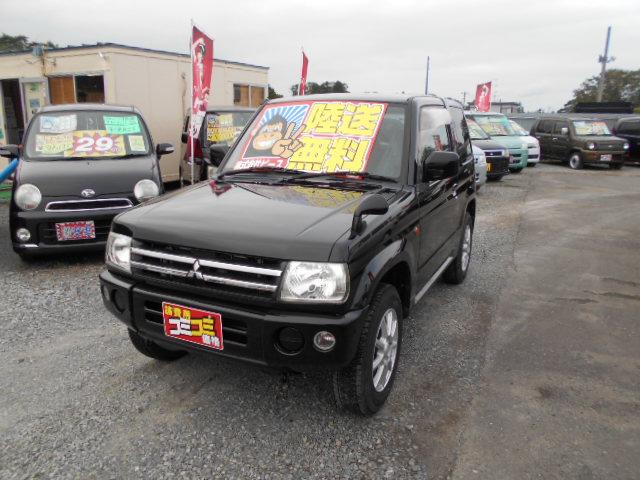 格安車 パジェロミニ AT 4WD 平成19年式 車検2年付 陸送無料 福島県相馬市発‼のサムネイル