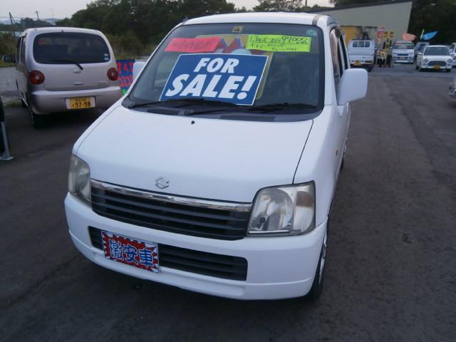 激安車 ワゴンR AT 13年式 車検無し 福島県相馬市発‼のサムネイル