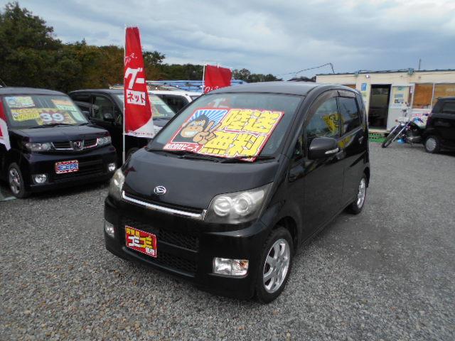 格安車 ムーヴ・カスタム AT 4WD 平成20年式 車検2年付  福島県相馬市発‼のサムネイル