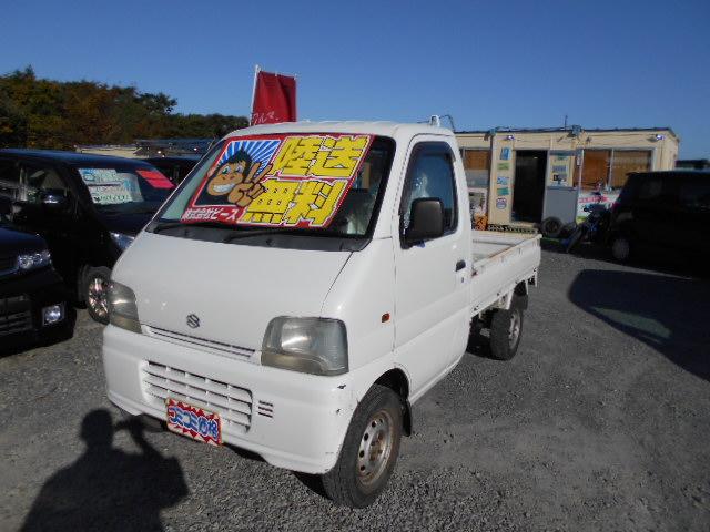 格安車 キャリートラック 5MT 平成11年式 車検2年付 福島県相馬市発‼のサムネイル
