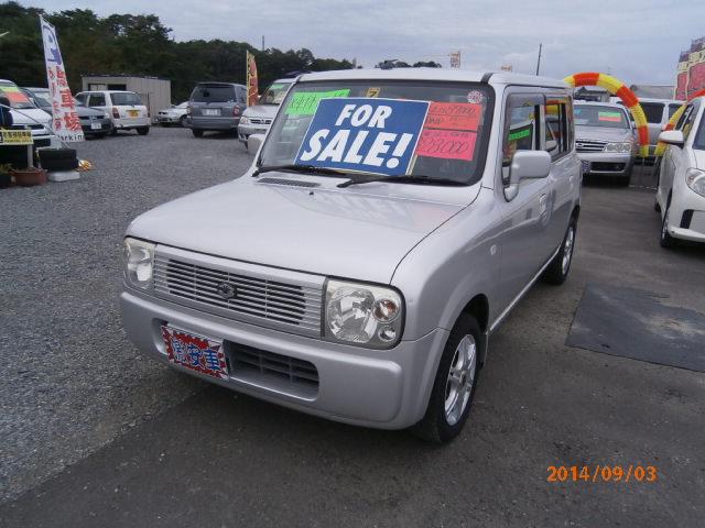 激安車 ラパン 4WD AT 14年式 車検無し 福島県相馬市発‼のサムネイル