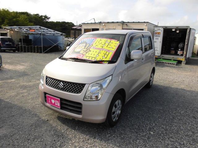格安車 ワゴンR MT H22年式 車検2年付 陸送無料 福島県相馬市発!!のサムネイル