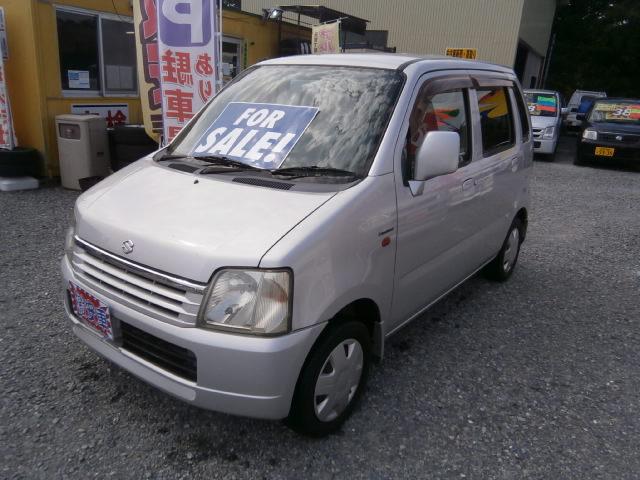 激安車 ワゴンR AT 4WD 13年式 車検無し 福島県相馬市発‼のサムネイル