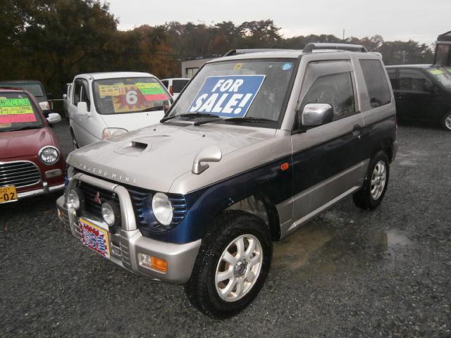 激安車 パジェロミニ 5F 4WD 10年式 車検27年7月 福島県相馬市発‼のサムネイル