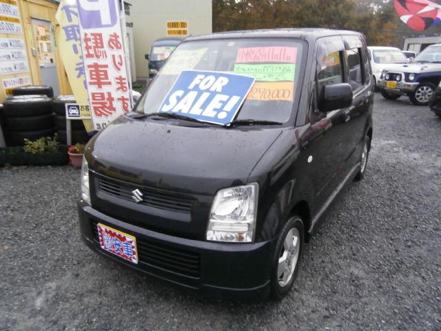 激安車 ワゴンR AT 4WD 16年式 車検28年11月 福島県相馬市発‼のサムネイル