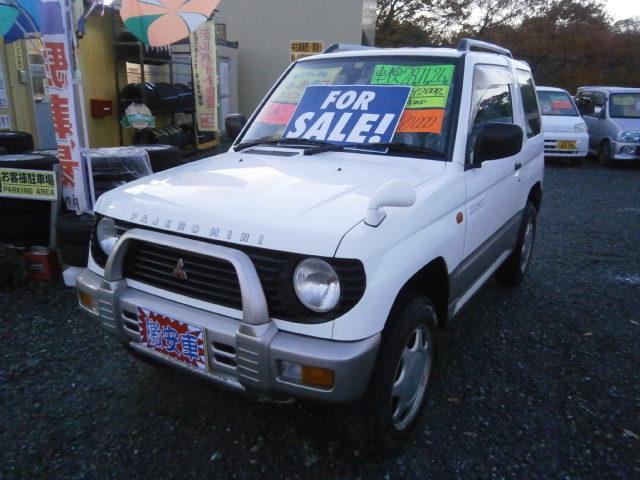 激安車 パジェロミニ 4WD 9年式 AT 車検28年11月 福島県相馬市発‼のサムネイル