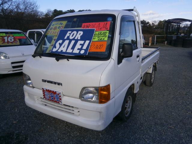 激安車 サンバーT 4WD 5F 13年式 車検28年4月 福島県相馬市発‼のサムネイル