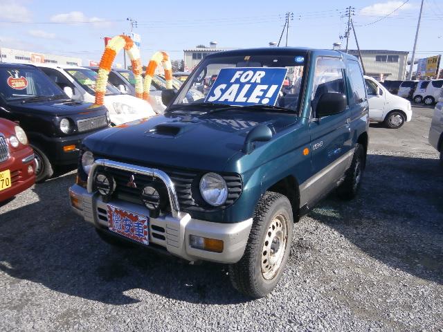 激安車 パジェロミニ AT 4WD 8年式 車検28年2月 福島県相馬市発‼のサムネイル