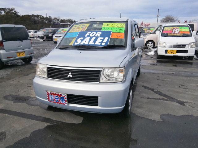 激安車 ekワゴン 4WD AT 14年式 車検29年1月 福島県相馬市発‼のサムネイル