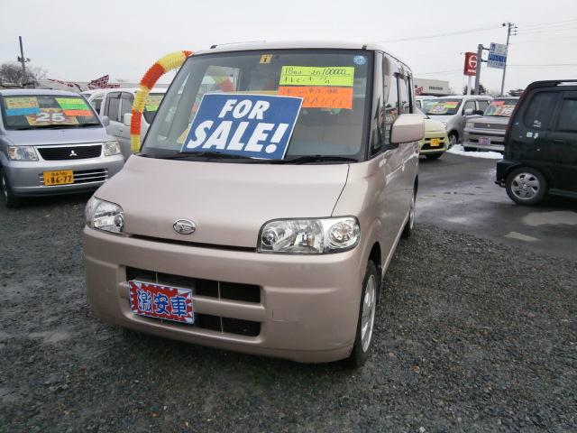 激安車 タント AT 18年式 車検無し 福島県相馬市発‼のサムネイル