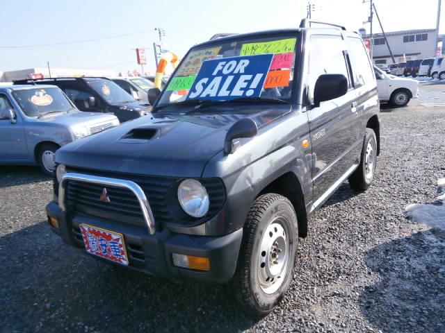 激安車 パジェロミニ AT ターボ付 8年式 車検29年2月 福島県相馬市発‼のサムネイル