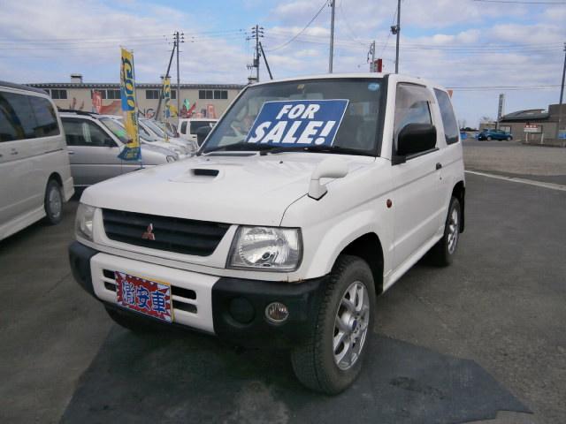 激安者 パジェロミニ AT 4WD 11年式 車検28年2月 福島県相馬市発‼のサムネイル