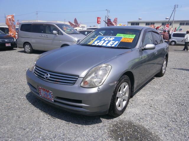 激安車 スカイライン 2500cc 4WD 15年式 車検無し 福島県相馬市発‼のサムネイル