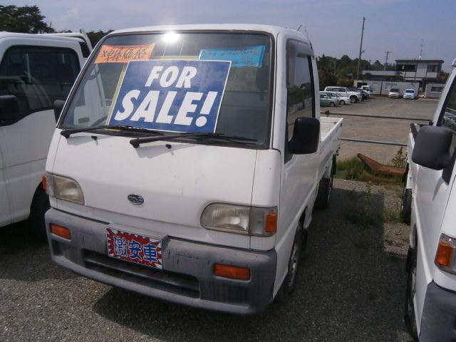 激安車 サンバートラック 5MT 4WD 7年式 車検無し 福島県相馬市のサムネイル