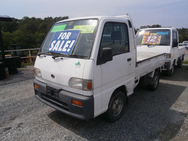 激安車 サンバートラック 5MT 4WD 5年式 車検無しのサムネイル