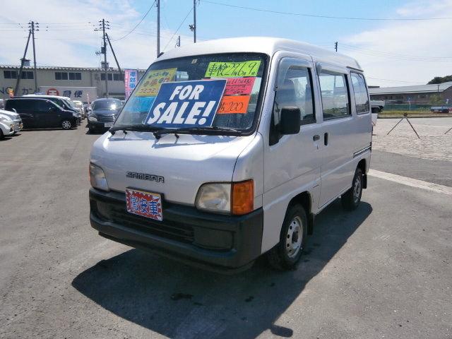 激安車 サンバーバン 11年式 4WD 5MT 車検29年6月 福島県相馬市発‼のサムネイル