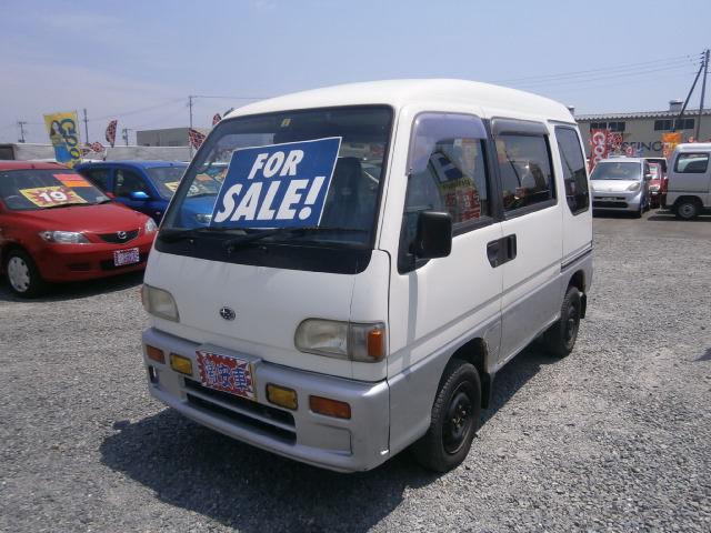 激安車 サンバーバン 8年式 5MT 4WD 車検28年8月 福島県相馬市発‼のサムネイル