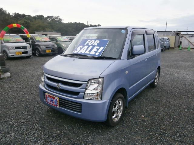 激安車 ワゴンR 17年式 5MT 4WD 車検28年11月 福島県相馬市発‼のサムネイル