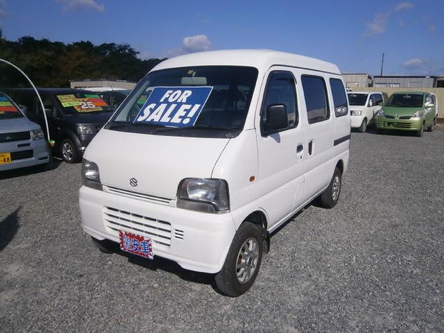 激安車 エブリィバン 14年式 5MT 4WD 車検28年11月 福島県相馬市発‼のサムネイル