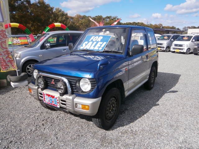 激安車 パジェロミニ 8年式 5MT 4WD 車検29年11月 福島県相馬市発‼のサムネイル