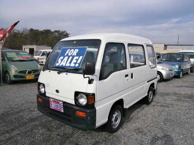 激安車 サンバーバン 7年式 5MT 4WD 車検29年6月 福島県相馬市発‼のサムネイル