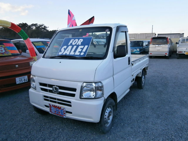激安車 アクティトラック 13年式 5MT 4WD 車検29年4月 福島県相馬市発‼のサムネイル