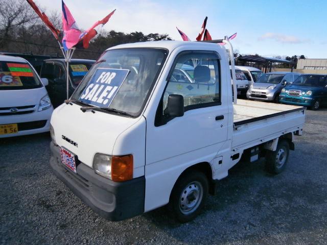 激安車 サンバートラック 11年式 5MT 4WD 車検30年1月 福島県相馬市発‼のサムネイル